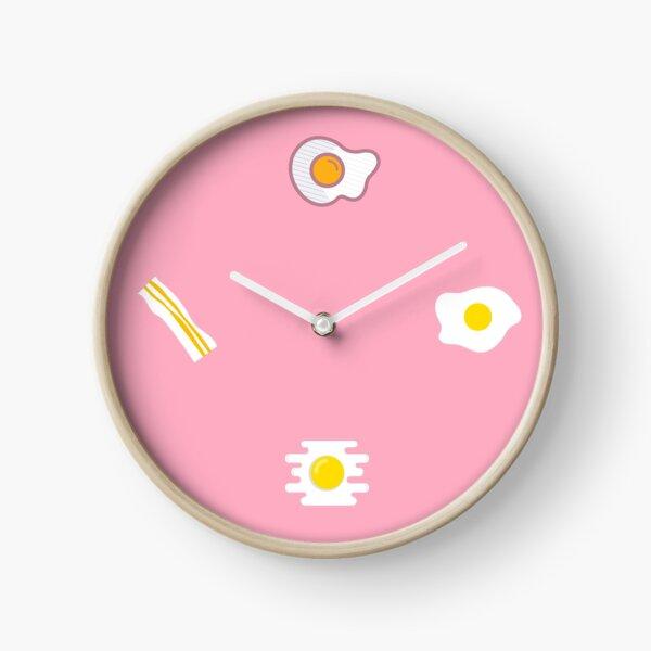 How do you like your eggs? Clock