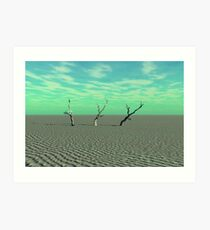 Arid Disaster Art Print