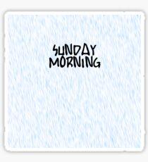 Maroon 5 - Sunday Morning Sticker