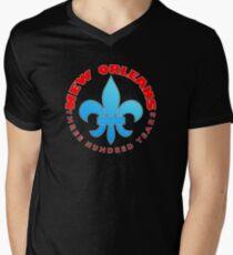 New Orleans tricentenary Men's V-Neck T-Shirt