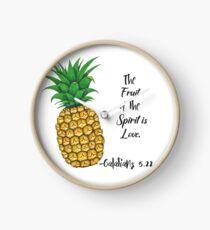 Frucht des Geistes Design Uhr