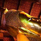 Reclining Buddha by Bobby McLeod