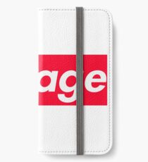 Pauly D Savage Shirt iPhone Wallet/Case/Skin