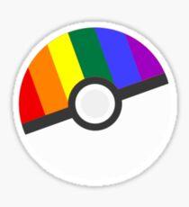 Pokemon 'Prideball' Sticker