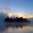Algonquin Park - Lake of Two Rivers by Jim Cumming