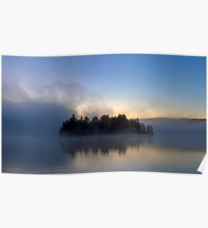 Algonquin Park - Lake of Two Rivers Poster
