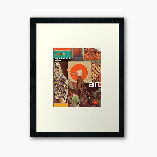 Archival World Framed Art Print