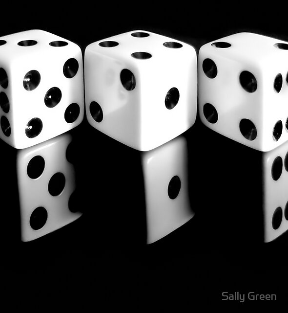 Reflecting Dice by Sally Green