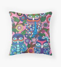 3 Owls Floor Pillow