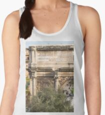 Arch of Septimius Severus with the Roman Forum Women's Tank Top