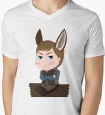 Arthur Pendragon - The Once and Future... Donkey Men's V-Neck T-Shirt