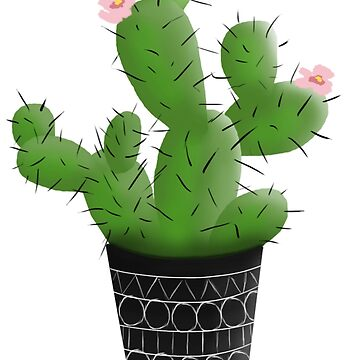 Everybody loves a cactus by Lilarena94