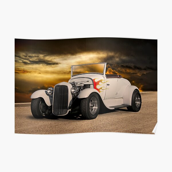 1930-31 Ford Roadster I Poster