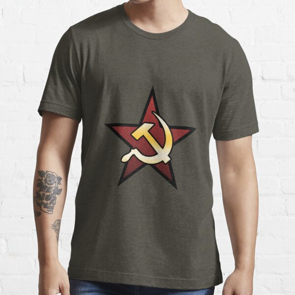 Command & Conquer Red Alert Soviets Essential T-Shirt