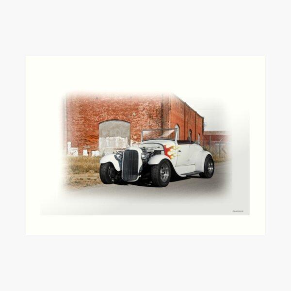 1930-31 Ford Roadster II Art Print