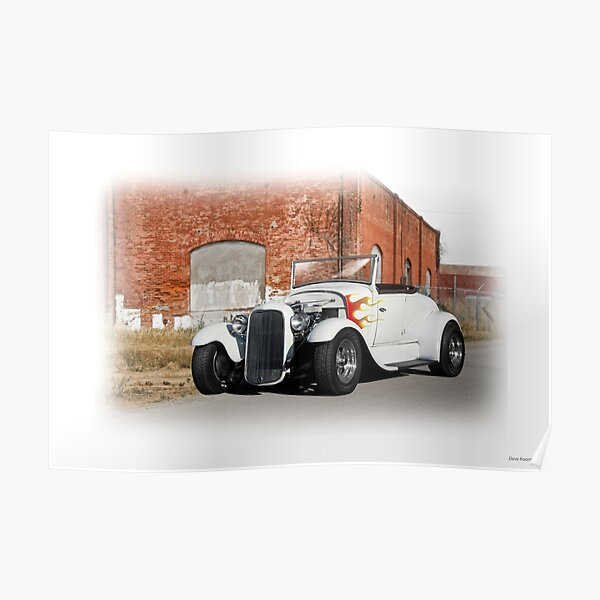 1930-31 Ford Roadster II Poster