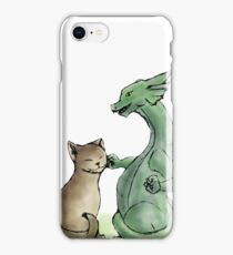 Furry Kitty, Scaly Kitty iPhone Case/Skin