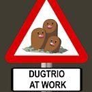 «Dugtrio at Work» de TJPhotos-Sama