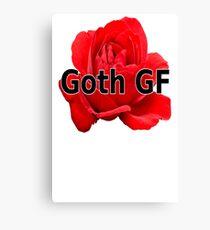 Goth GF Canvas Print