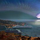 Moonset by Igor Zenin