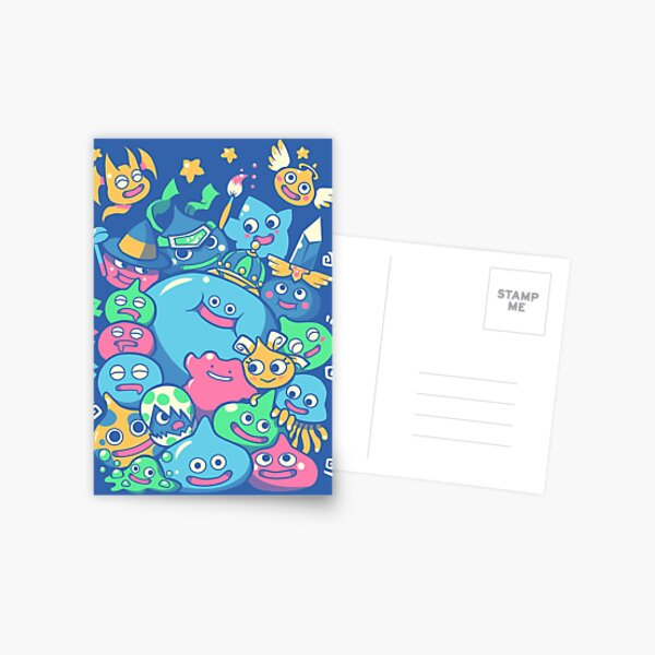 Slime Party!  Postcard