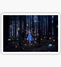 firefly Dancer Sticker