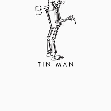 The Wonderful Wizard of OZ - Tin Man [v2.0] w/name by DavidTribby