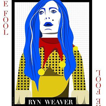 Ryn Weaver - The Fool Playing Card by treybrown