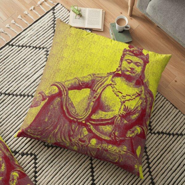Avalokiteshvara Bodhisattva  2 -Design 3 Floor Pillow