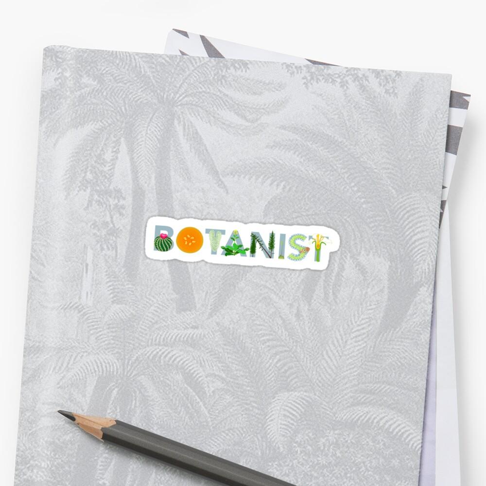 Botanist Sticker