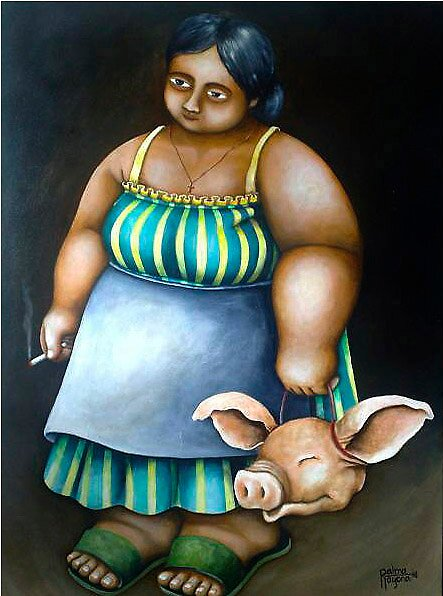 ALING EMILY (Mrs. Emily) by palma tayona