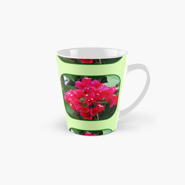 Red Bougainvillea Tall Mug