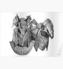 Stargate Horus & Anubis Masks Poster