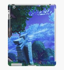 Fortnite rural scene 1 iPad Case/Skin