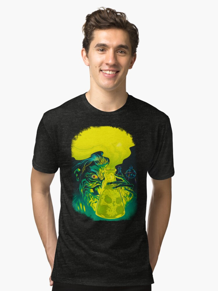 MAD SCIENCE! Tri-blend T-Shirt Front