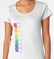 gambe boy  color Women's Premium T-Shirt