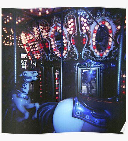 Dark Horse Carousel Poster
