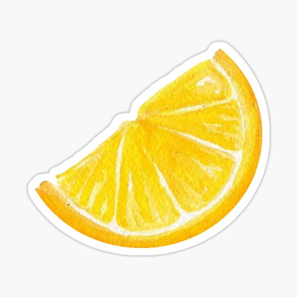 Lemon Sticker Sticker