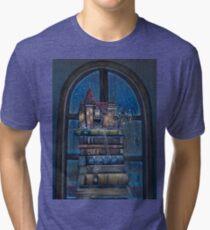 Castle Book Tri-blend T-Shirt