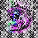 SKULL KING AND PATTERN von fuxart
