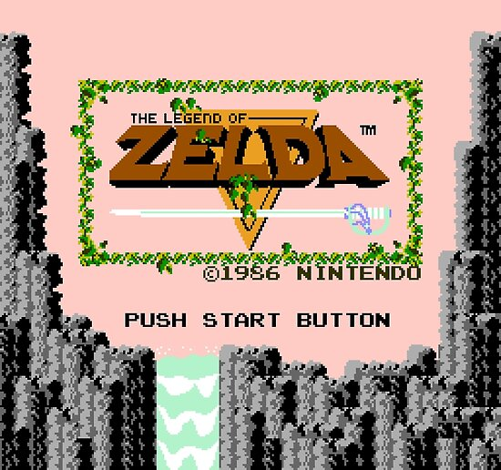Legend of Zelda: Start Screen by muramas