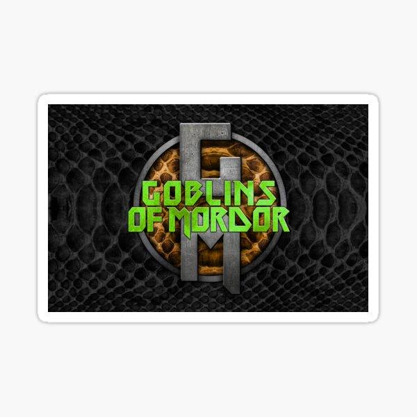 Michael Mordor Collectibles version 2 Sticker