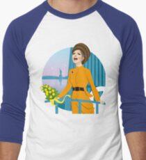 Camiseta ¾ bicolor para hombre Desfile