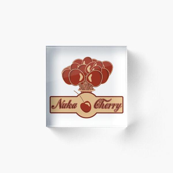 Nuka Cherry Acrylic Block