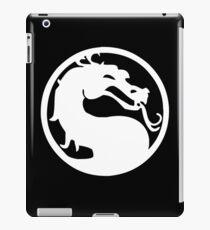 Mortal Dragon (White) iPad Case/Skin