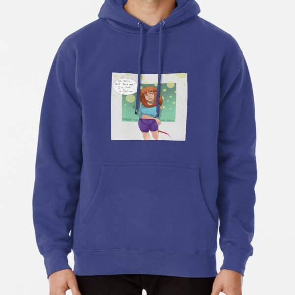 "Dont ""hurt"" Gen she's just a girl  Pullover Hoodie"