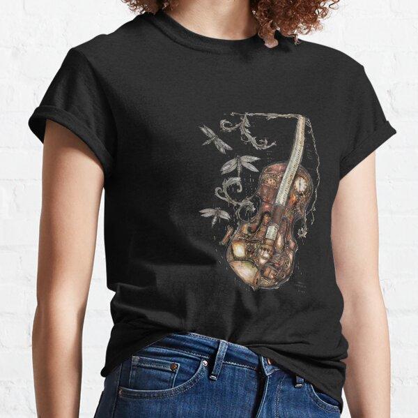 Steampunk voilin Classic T-Shirt