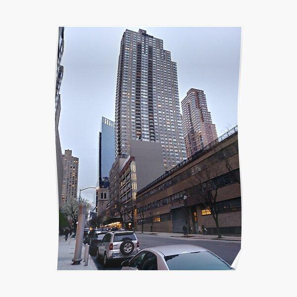 New York, Manhattan, New York City, Skyscraper, Tower block, High-rise building Poster