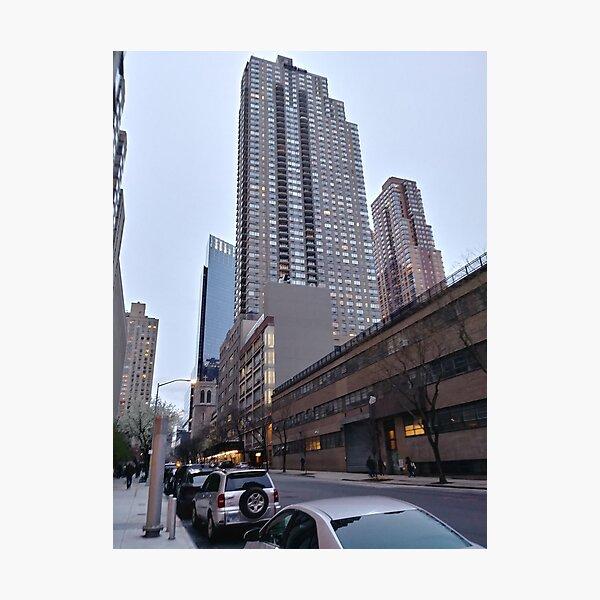 New York, Manhattan, New York City, Skyscraper, Tower block, High-rise building Photographic Print