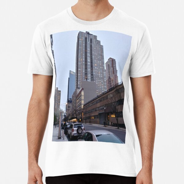 New York, Manhattan, New York City, Skyscraper, Tower block, High-rise building Premium T-Shirt
